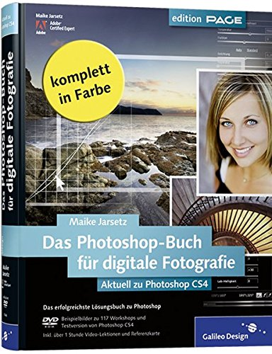 9783836212441: Adobe Photoshop 2009 für digitale Fotografie Aktuell zu Photoshop CS4