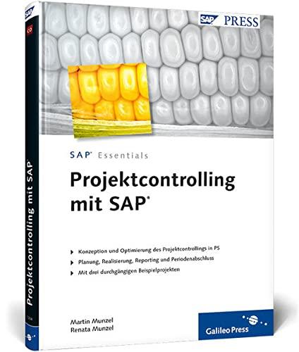 9783836213349: Projektcontrolling mit SAP