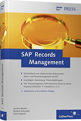 9783836213523: SAP Records Management