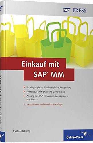 9783836213943: Einkauf mit SAP MM: Prozesse, Funktionen, Customizing