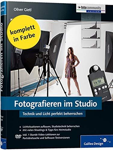 9783836214100: Fotografieren im Studio: Der perfekte Umgang mit Licht