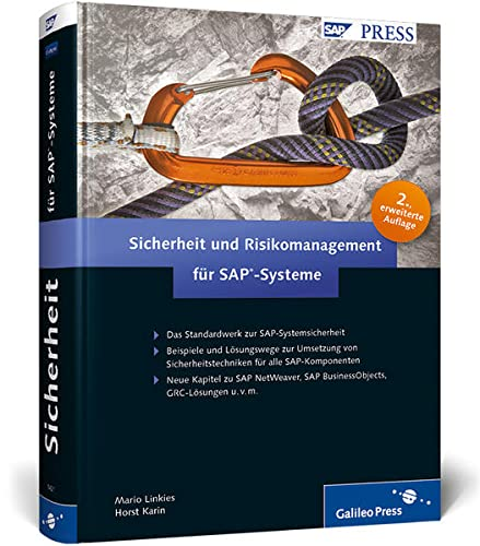 9783836214216: Sicherheit und Risikomanagement für SAP-Systeme