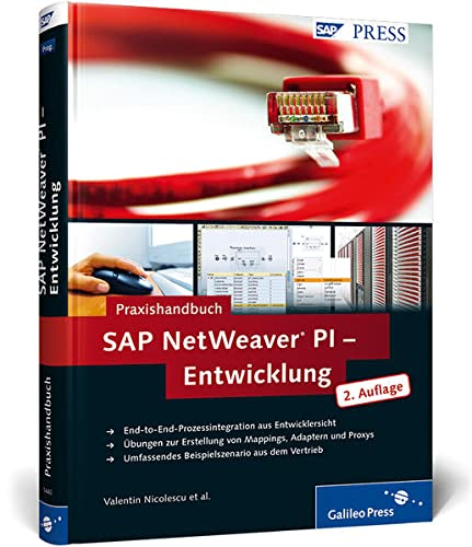 9783836214407: Praxishandbuch SAP NetWeaver PI - Entwicklung