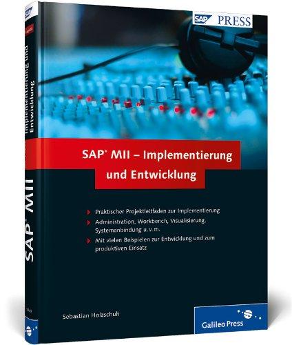9783836214490: SAP MII - Implementierung und Entwicklung