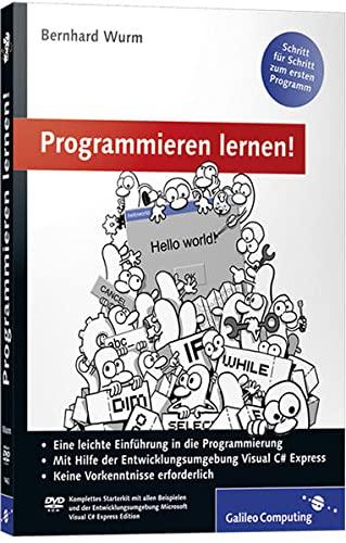 9783836214629: Programmieren lernen!