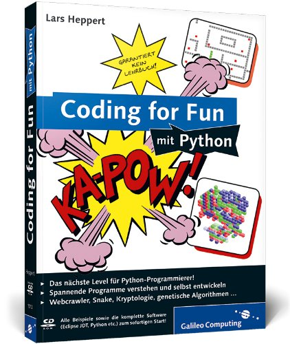 9783836215138: Coding for Fun mit Python