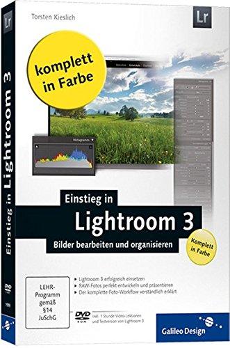 9783836215992: Einstieg in Lightroom 3
