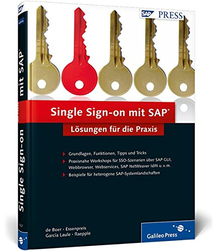 9783836216272: Single Sign-on mit SAP