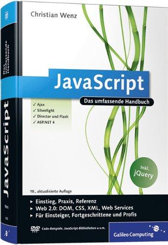 9783836216784: JavaScript: Das umfassende Handbuch