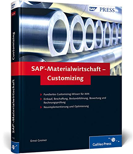 9783836216838: SAP-Materialwirtschaft - Customizing