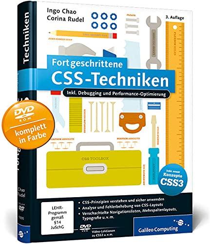 9783836216951: Fortgeschrittene CSS-Techniken: inkl. CSS-Debugging und Performance-Optimierung