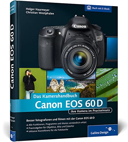 9783836217149: Canon EOS 60D. Das Kamerahandbuch