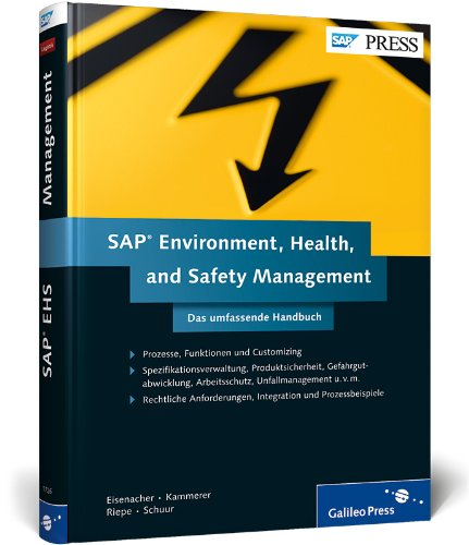 SAP Environment, Health, and Safety Management: Stephan Eisenacher