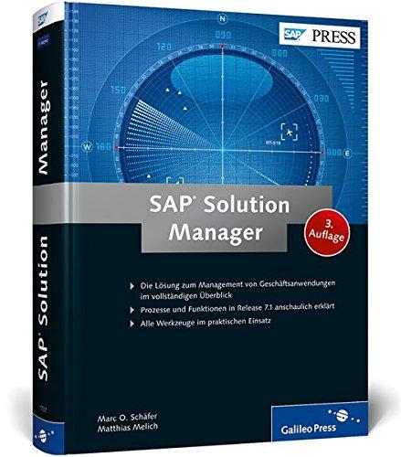 SAP Solution Manager: Marc O. Schäfer