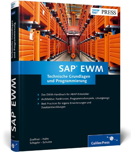 9783836218122: SAP EWM - Technische Grundlagen und Programmierung