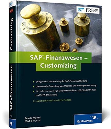 9783836218276: SAP-Finanzwesen - Customizing