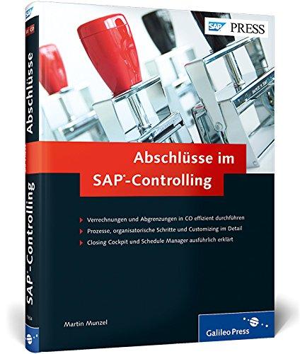 9783836218542: Abschlüsse im SAP-Controlling