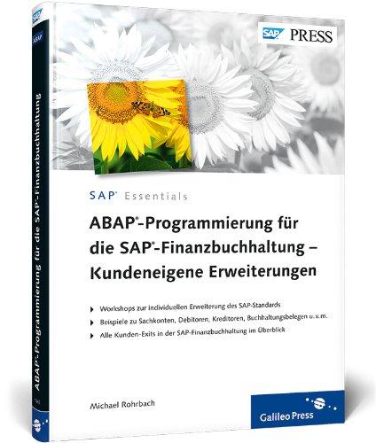 9783836218634: ABAP-Programmierung für die SAP-Finanzbuchhaltung - Kundeneigene Erweiterungen