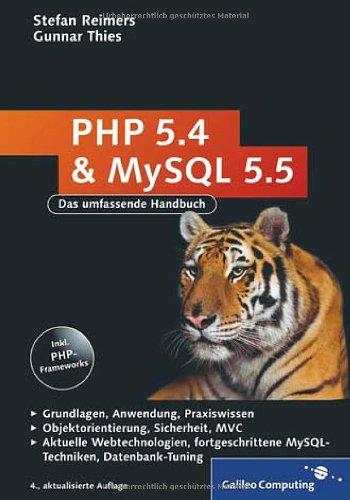 9783836218764: PHP 5.4 und MySQL 5.5