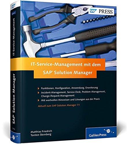 9783836219181: IT-Service-Management mit dem SAP Solution Manager