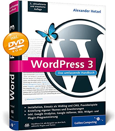 9783836219433: WordPress 3: Das umfassende Handbuch