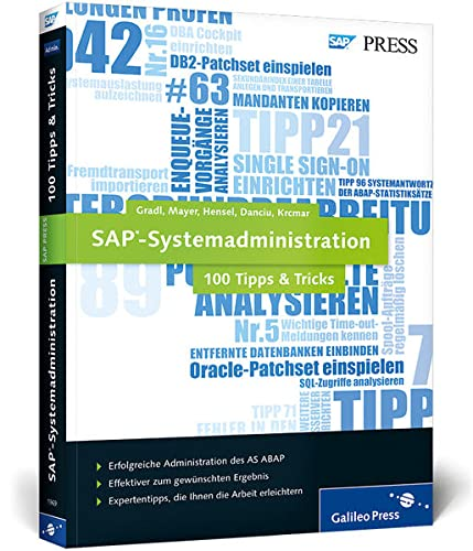 9783836219693: SAP-Systemadministration - 100 Tipps & Tricks