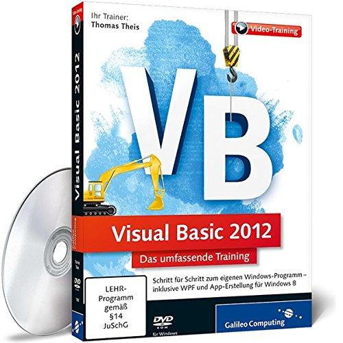 9783836219884: Visual Basic 2012 - Der umfassende Einstieg (PC-DVD)