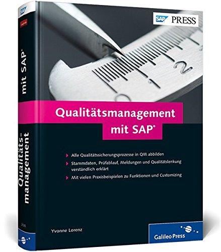 9783836220354: Qualitätsmanagement mit SAP: Das umfassende Handbuch