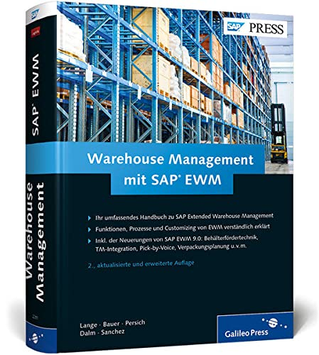 9783836222112: Warehouse Management mit SAP EWM