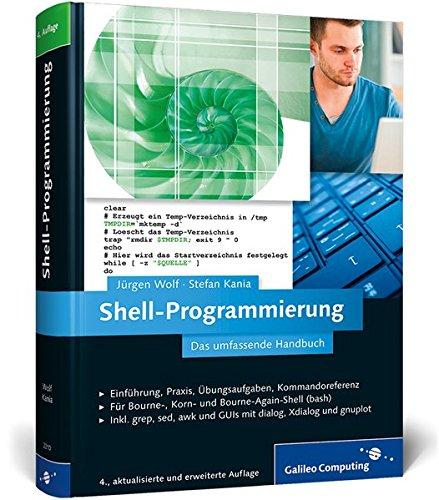 9783836223102: Shell-Programmierung