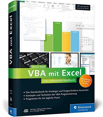 9783836225793: VBA mit Excel: Das umfassende Handbuch