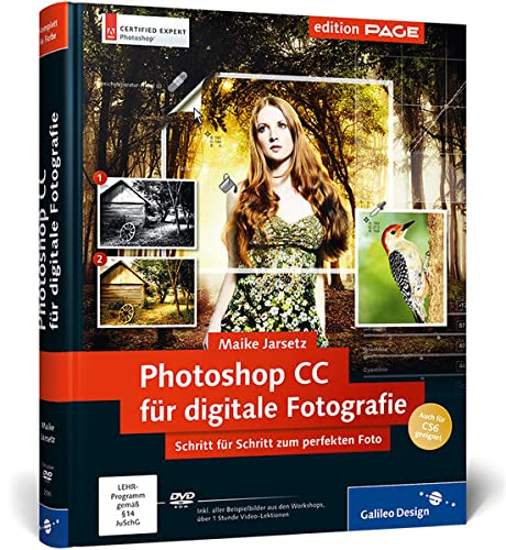 9783836225908: Photoshop CC für digitale Fotografie