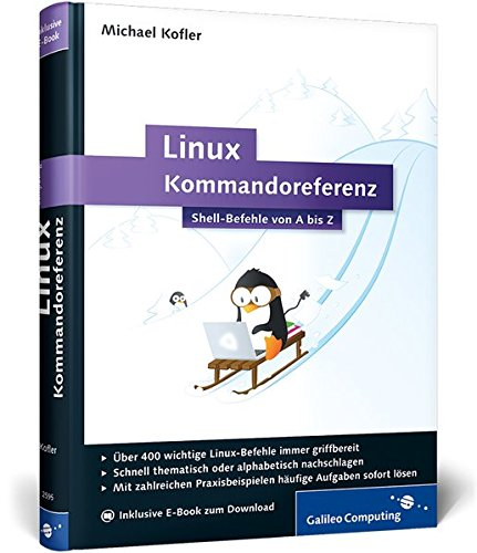 9783836225953: Linux-Kommandoreferenz