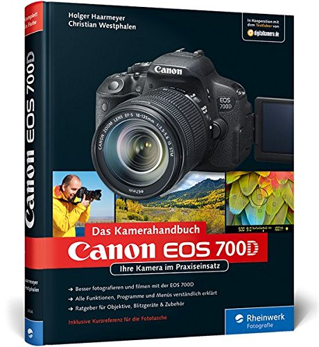 9783836226066: Canon EOS 700D. Das Kamerahandbuch