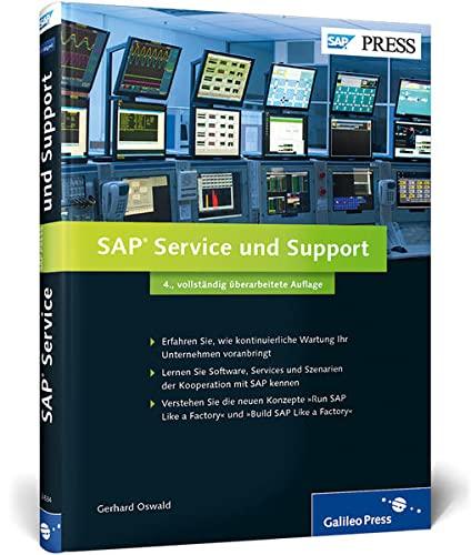 9783836226349: SAP Service und Support: Innovation und kontinuierliche Optimierung