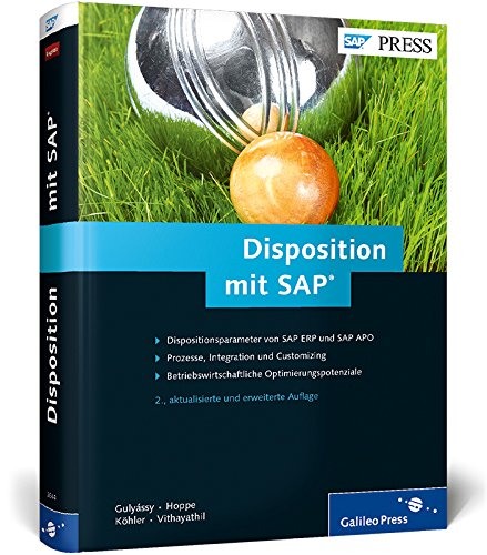 Disposition mit SAP (SAP PRESS): Gulyássy, Ferenc, Hoppe,