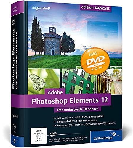 9783836227001: Adobe Photoshop Elements 12: Das umfassende Handbuch