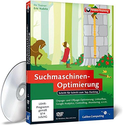 9783836227797: Suchmaschinen-Optimierung - Schritt für Schritt zum Top-Ranking (PC+Mac+Linux) [import allemand]