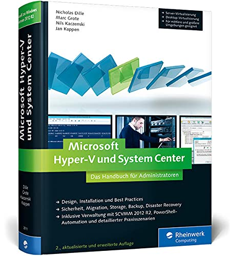 9783836228114: Microsoft Hyper-V und System Center: Das Handbuch für Administratoren. Aktuell zu Windows Server 2012 R2