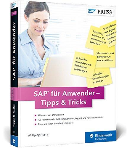 9783836229074: SAP für Anwender - Tipps & Tricks
