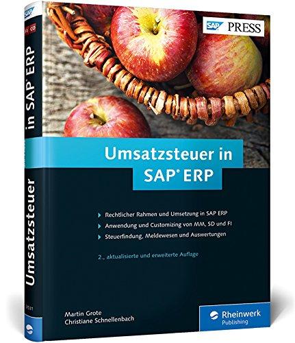 9783836235310: Umsatzsteuer in SAP ERP: Geschäftsprozesse in SAP MM, SAP FI und SAP SD