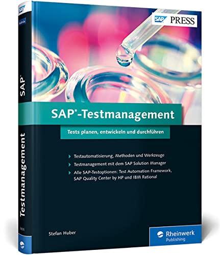 9783836238052: SAP-Testmanagement