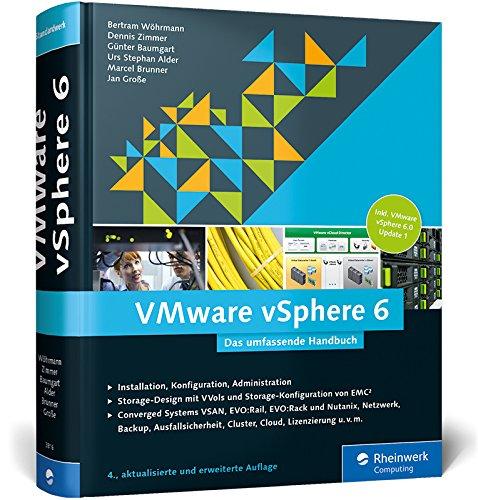 9783836238168: VMware vSphere 6: Das umfassende Handbuch