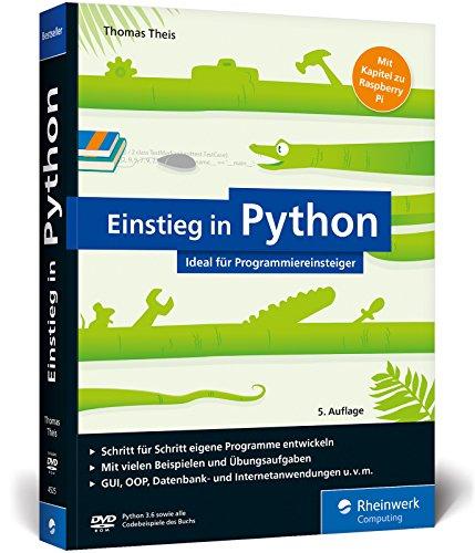 9783836245258 - Theis, Thomas: Einstieg in Python, m. DVD-ROM - Buch