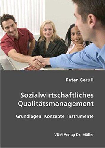 9783836403665: Sozialwirtschaftliches Qualitätsmanagement: Grundlagen, Konzepte, Instrumente
