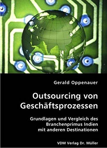 9783836404389: Outsourcing von Gesch+â-ñftsprozessen