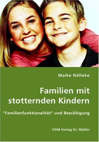 9783836418041: Familien mit stotternden Kindern: