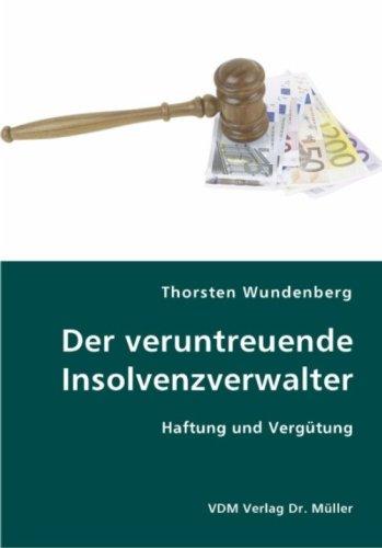 9783836420235: Der veruntreuende Insolvenzverwalter