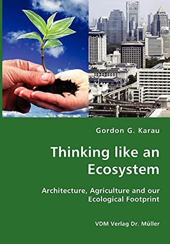 9783836425339: Thinking like an Ecosystem