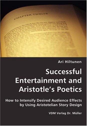 9783836437622: Successful Entertainment and Aristotle's Poetics